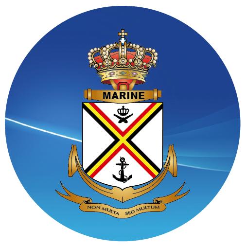 Logo Belgian Navy