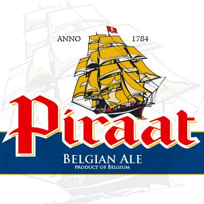Etiket bier Piraat